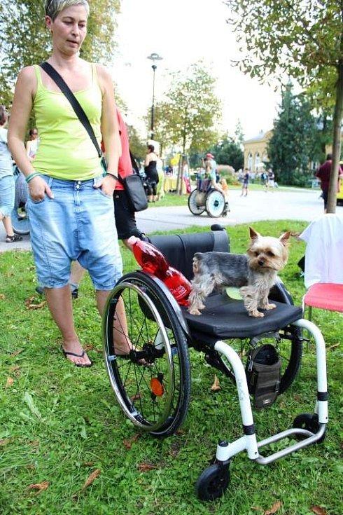 Handicap Rally v olomouckých Smetanových sadech