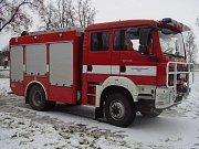 Technika dobrovolných  hasičů v Uničově