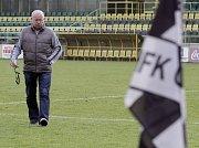 Leoš Kalvoda jako trenér HFK Olomouc
