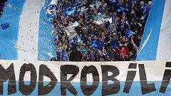 Fanoušci Sigmy na domácím zápase se Spartou v březnu 2016