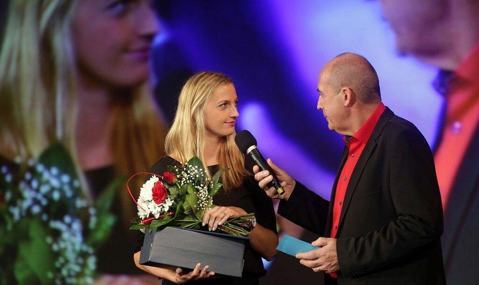 Petra Kvitová. Vyhlášení Sportovce Olomouckého kraje za rok 2015