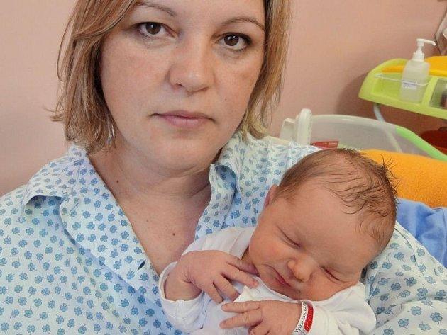 Rozálie Vymazalová, Senice na Hané, narozena 18. ledna v Olomouci, míra 49 cm, váha 3240 g.