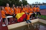 Vítězné družstvo olomouckých žákyň