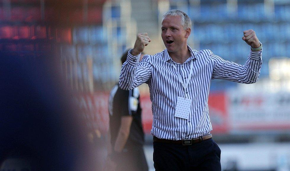 Sigma Olomouc - Slovan Liberec 2:1. Trenér Václav Jílek
