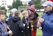 Hráči ZŠ Heyrovského Olomouc skončili na druhém místě turnaje starších žáků.
