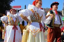 Rekordní setkání krojovaných Hanáků a Hanaček v Zábřehu