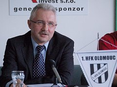 Šéf HFK Olomouc Vladimír Dostál.