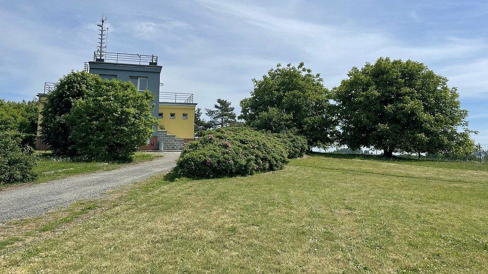 Obec Luká, meteorologická stanice, 15. června 2021