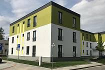 Komunitní dům pro seniory v Lutíně, září 2020