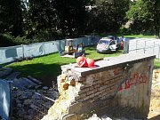 Rekonstrukce Jihoslovanského mauzolea v Bezručových sadech v Olomouci