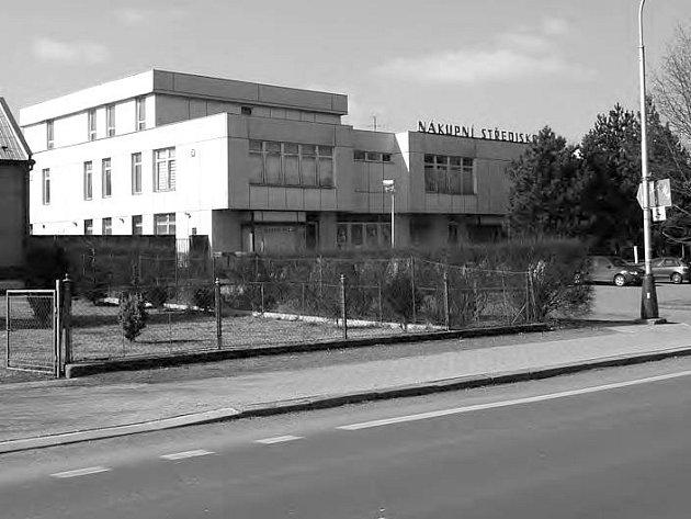 Nákupní středisko ve Štěpánově
