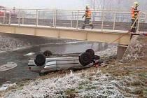 Novoroční nehoda v Uničově