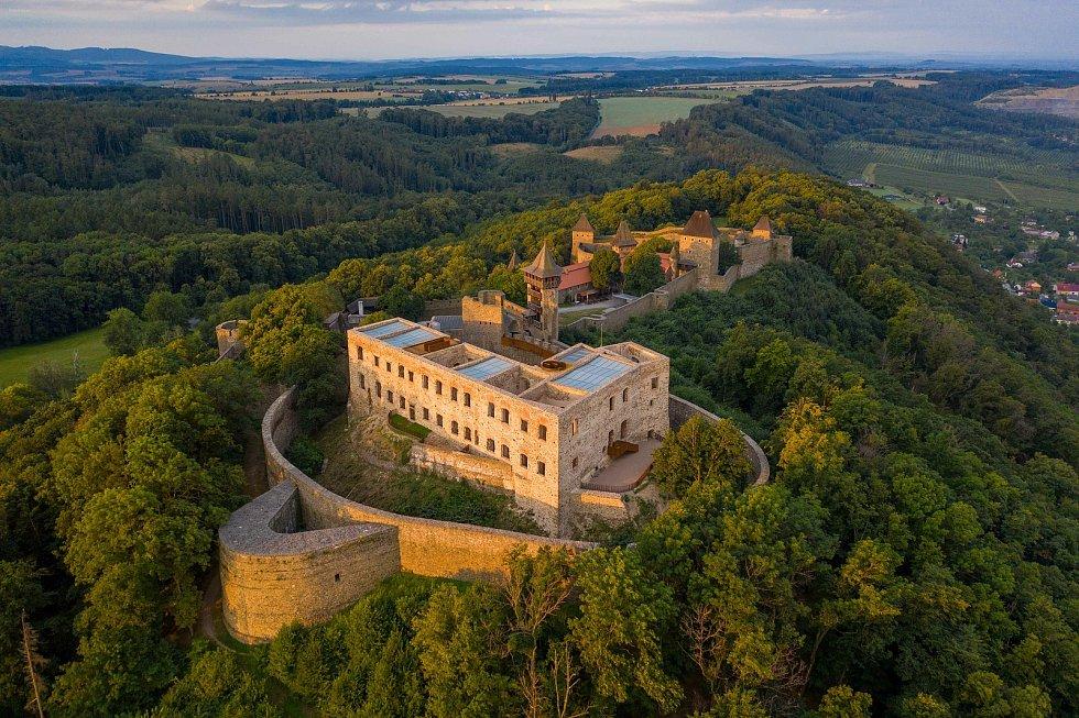 Stavba roku Olomouckého kraje 2020. V kategorii Rekonstrukce a obnova zvítězila záchrana a zpřístupnění paláce na hradě Helfštýn.
