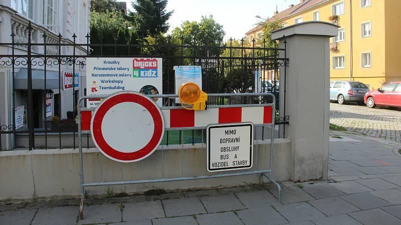 Tř. Svornosti v Olomouci zavře od 27.9. oprava v úseku od Litovelské po Dvořákovu ulici