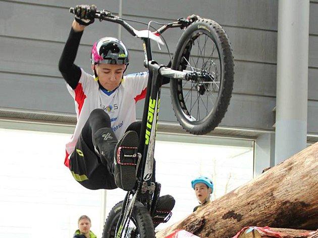 Tomáš Vepřek v Brně skončil druhý.