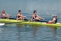 Olomoučtí veslaři na MČR v Račicích