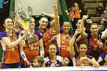 Volejbalistky Olomouce porazily Maribor a získaly titul z MEVZA.