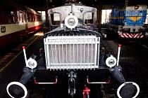 Železniční muzeum v olomouckém depu