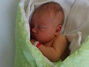Nela Ferencová, Pavlov, narozena 1. února, míra 46 cm, váha 3110 g