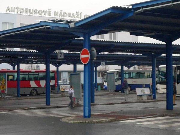 Autobusové nádraží vOlomouci. Ilustrační foto