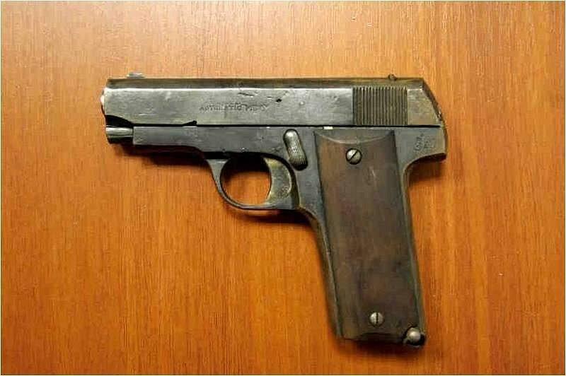 Zbraň, kterou lupiči měli v nelegálním držení