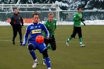 Jakub Petr střílí první gól Sigmy v kalendářním roce 2010.