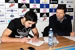 Martin Pospíšil podepsal v Sigmě pětiletý kontrakt
