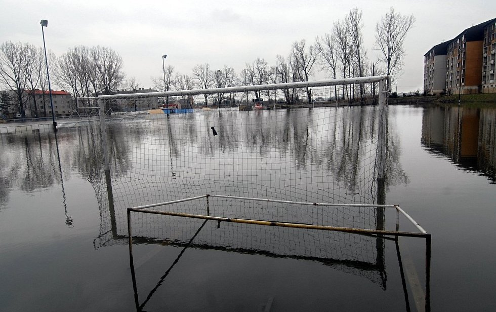 5. dubna 2006, Olomouc - fotbalový areál na Nových Sadech