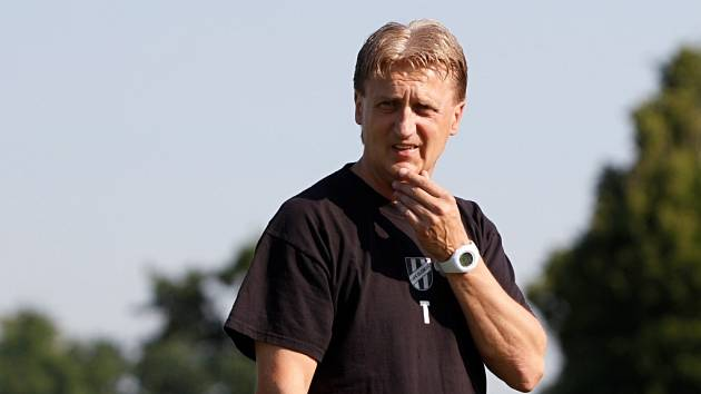 Trenér Oldřich Machala
