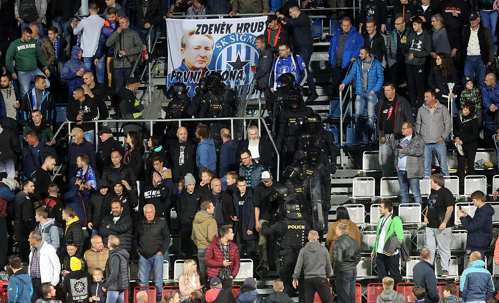 Sigma proti Spartě na Andrově stadionu