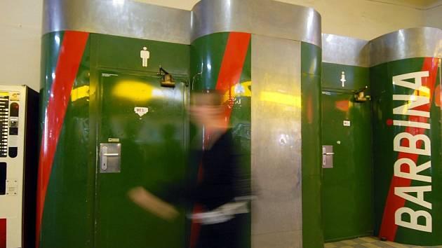 Toalety na olomouckém hlavním nádraží