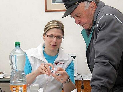 Den vody ve vodárně v Černovíře