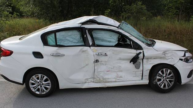 Nehoda mezi Potštátem a Výkleky, 18. 7. 2019