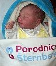 Jonáš Matějek, Olomouc, narozen 27. března ve Šternberku, míra 51 cm, váha 3936 g