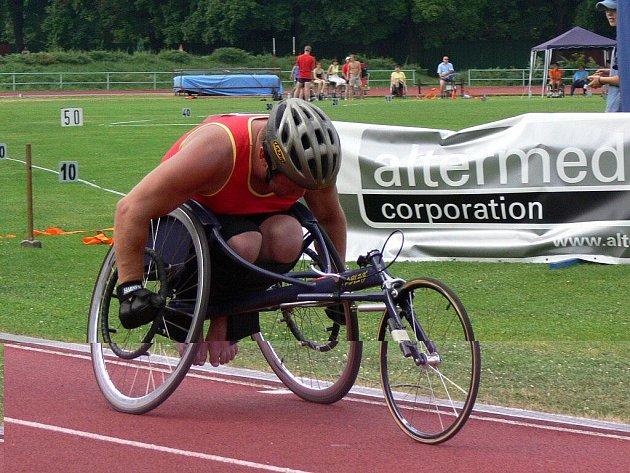 Handicapovaní sportovci v akci