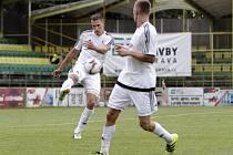 Fotbalisté  1. HFK Olomouc. Ilustrační foto