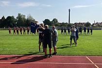 SK Uničov se před startem sezony rozloučil s Romanem Vejvodou.
