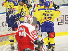 Berani Zlín porazili HC Olomouc