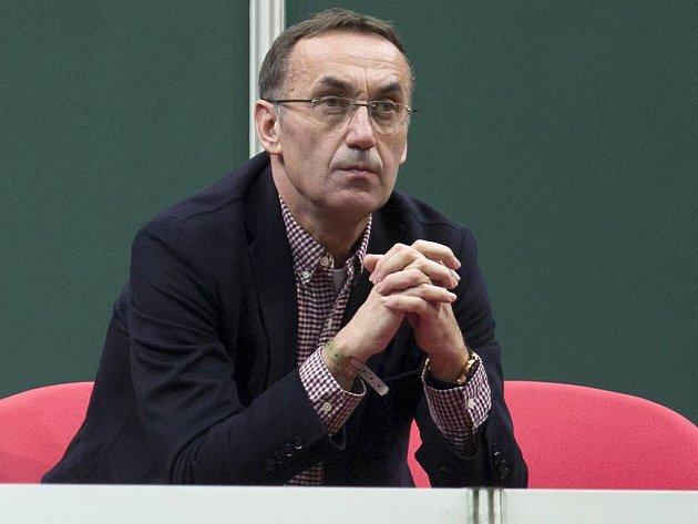 Olomoucký podnikatel Ivan Kyselý na tenisovém Fed Cupu v Ostravě v roce 2013