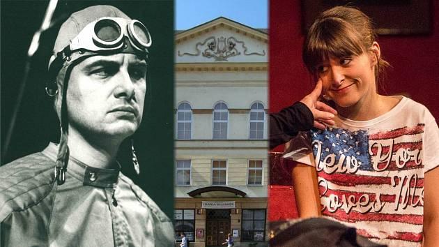 Vladimír Čech a Anna Stropnická v inscenacích Moravského divadla Olomouc.