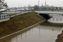 Obtokový kanál v Olomouci