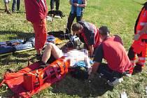 Na Dolní Moravě se zřítil paraglidista