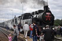 Parní lokomotiva do Chornic