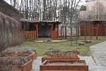 Zahrada základní školy ve Slatinicích