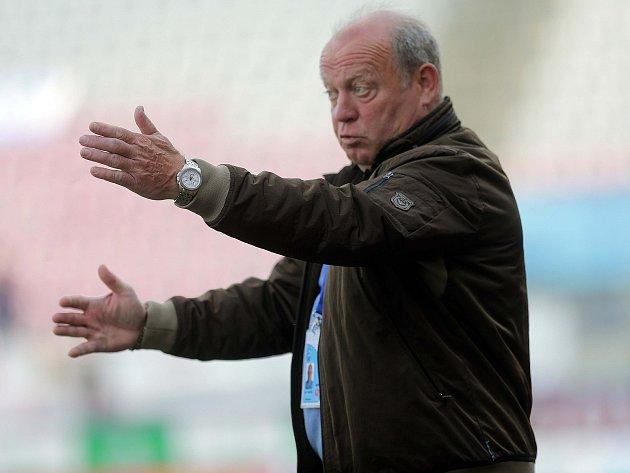 Fotbalový trenér Leoš Kalvoda.