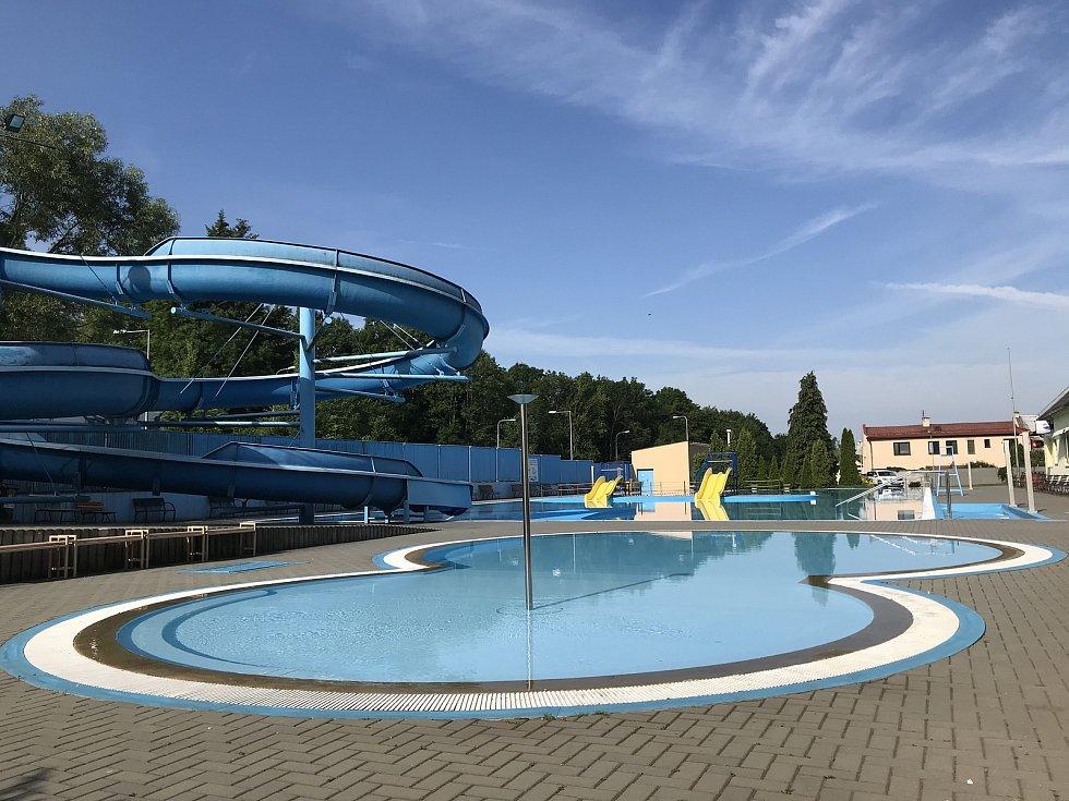 Koupaliště ve Šternberku 16. června 2020