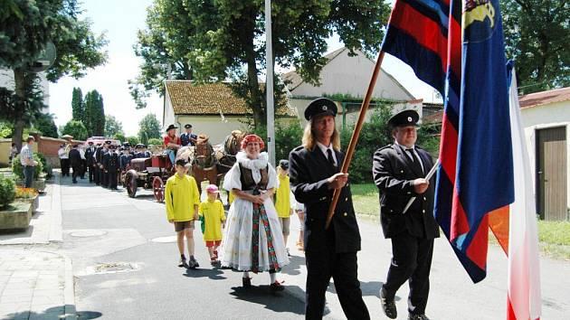 Oslavy 130. výročí dobrovolných hasičů v Šumvaldu