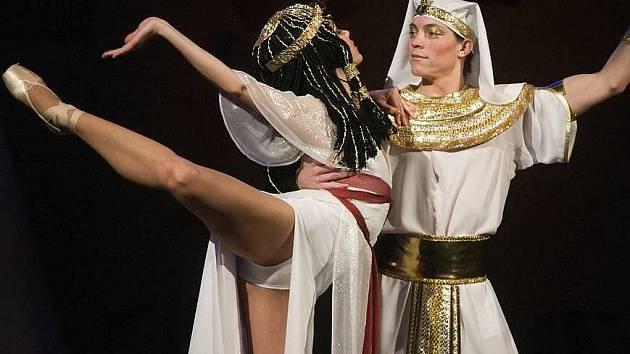 Balet Mojžíš v Moravském divadle