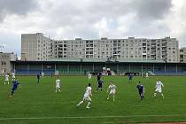Fotbalisté Uničova prohráli v MSFL doma s rezervou Zlína 0:1. Utkání se hrálo kvůli vládním opatřením v souvislosti s šířením koronaviru bez diváků.