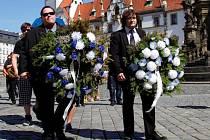 Fanoušci uctili památku zesnulé prvoligové Sigmy smutečním pochodem